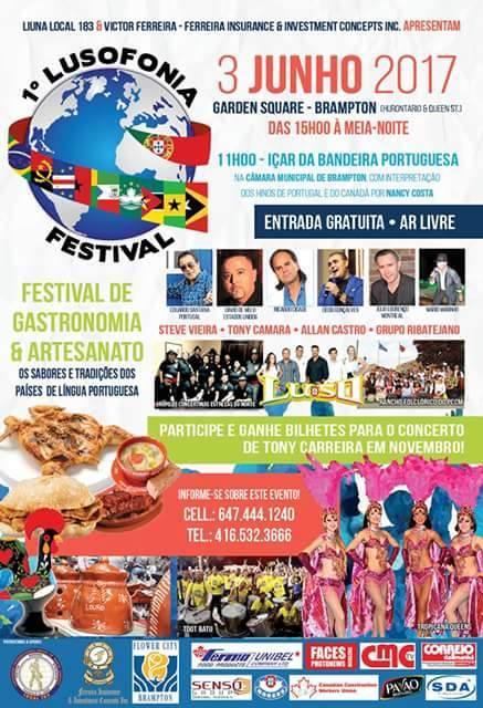 Lusofonia Festival poster